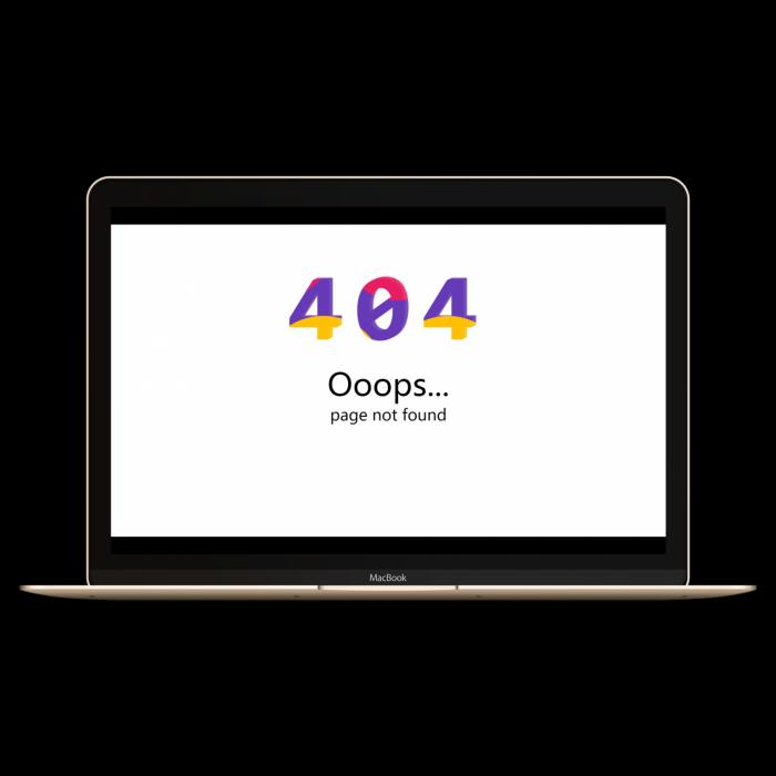 分享九款不同页面的404源码(带演示站点)-第6张图片-零零娱乐网